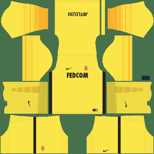 dream league soccer monaco fc gk away kit