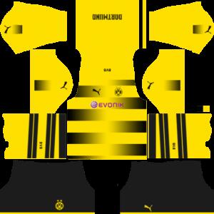Dream League SoccerBorussia Dortmund Kits and Logos 2018, 2019 – [512X512]