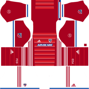 Dream League Soccer FC Dallas Kits and Logos 2018, 2019 – [512X512]
