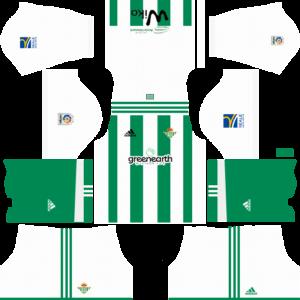 Real Betis Home Kit DLS 2018