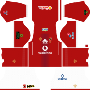 Al Ahly SC (Egypt) Home Kits DLS 2018