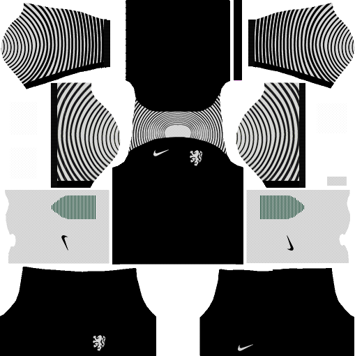 Netherlands Goalkeeper Away Kit DLS 2018