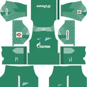 Zenit St Petersburg Goalkeeper Home Kits DLS 2018
