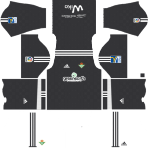 Real Betis Goalkeeper Away Kit DLS 2018