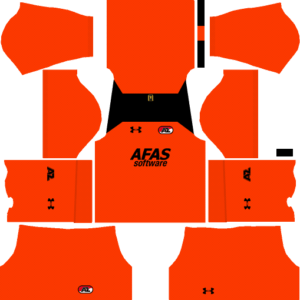 AZ Alkmaar Goalkeeper Away Kits DLS 2018