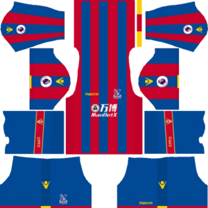 Dream League Soccer Crystal Palace FC Kits and Logos 2018, 2019 – [512X512]