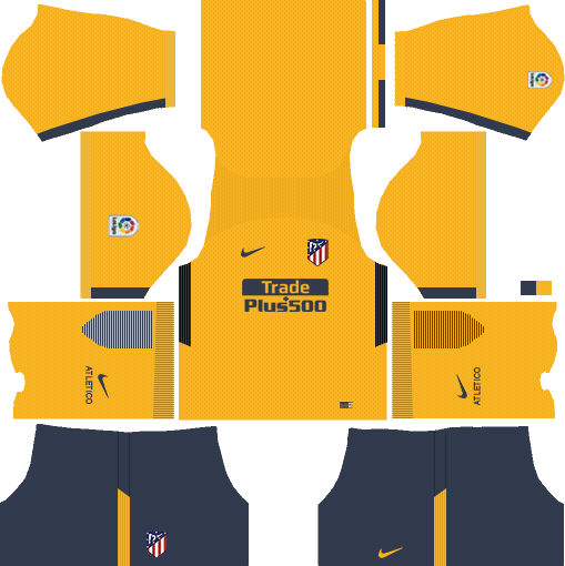 Atlético Madrid Away Kits DLS 2018