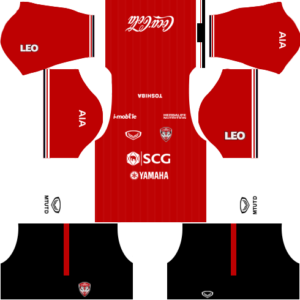 Dream League Soccer Muangthong United Kits and Logos 2018, 2019 – [512X512]