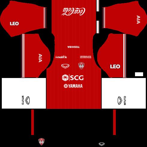 Muangthong United Kits (Home) 2018