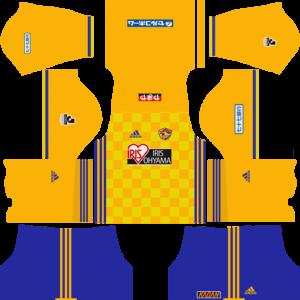 Dream League Soccer Vegalta Sendai Kits and Logos 2018, 2019 – [512X512]