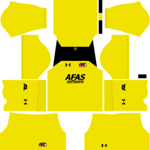 AZ Alkmaar Goalkeeper Home Kits DLS 2018