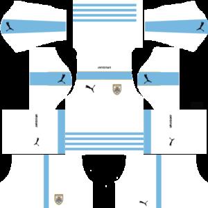 Uruguay Kits Away 2018