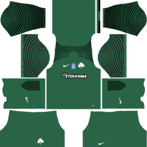 Panathinaikos F.C. Goalkeeper Away Kits DLS 2018