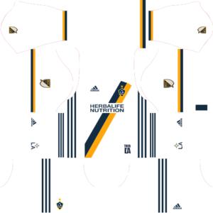 Dream League Soccer LA Galaxy Kits and Logos 2018, 2019 – [512X512]