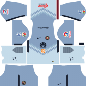 Club América Goalkeeper Away Kits DLS 2018