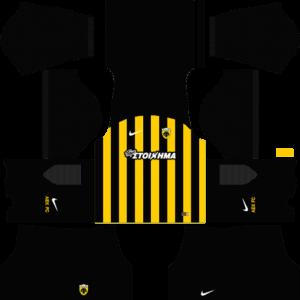 Dream League SoccerAEK F.C Kits and Logos 2018, 2019 – [512X512]