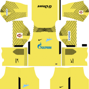 Zenit St Petersburg Goalkeeper Third Kits DLS 2018