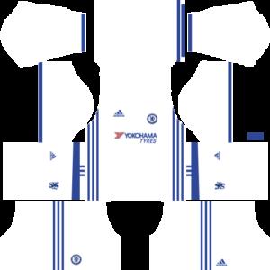 Chelsea Third Kits DLS 2018