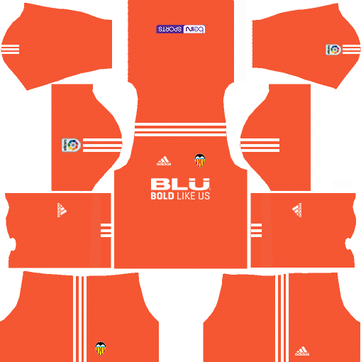 Dream League Soccer Valencia Goalkeeper Home kit 2018 - 2019