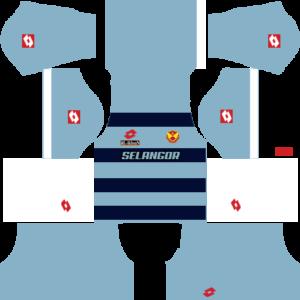 Selangor Kits Goalkeeper DLS 2018