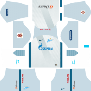 Zenit St Petersburg Away Kits DLS 2018