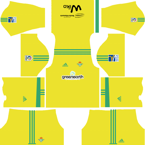 Real Betis Goalkeeper Home Kit DLS 2018