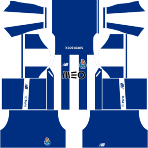 Dream League Soccer FC Porto  Kits and Logos 2018, 2019 – [512X512]