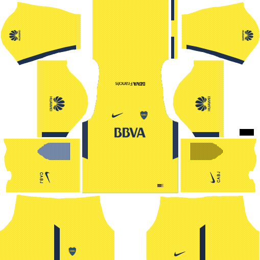 Boca Juniors Away Kits DLS 2018