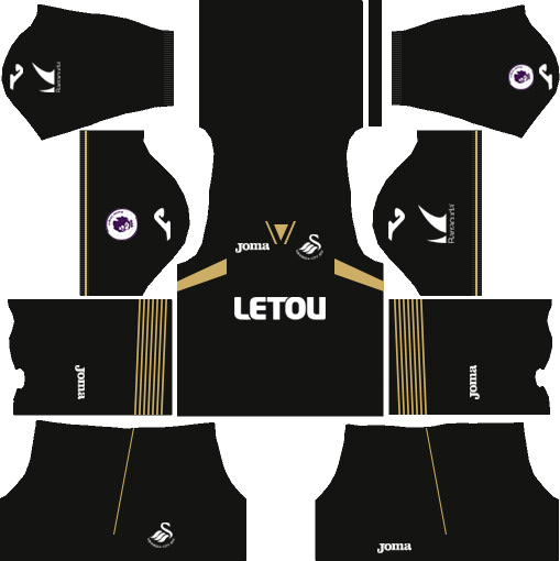 Swansea City AFC Third Kits DLS 2018