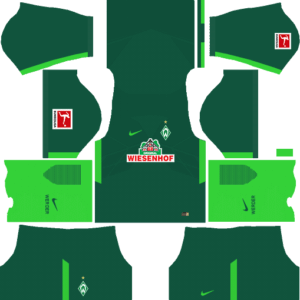 Dream League Soccer SV Werder Bremen Kits and Logos 2018, 2019 – [512X512]