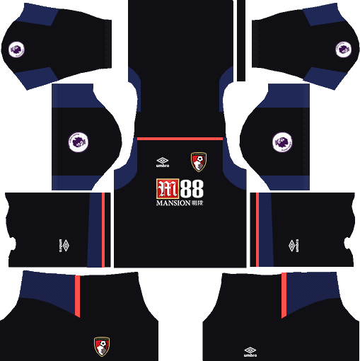 A.F.C. Bournemouth Goalkeeper Away Kits DLS 2018