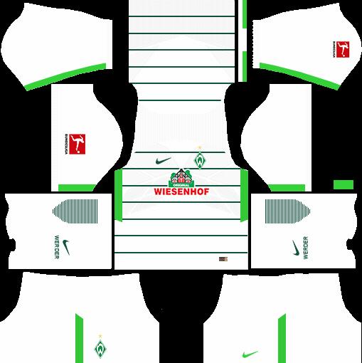 SV Werder Bremen Away Kits DLS 2018