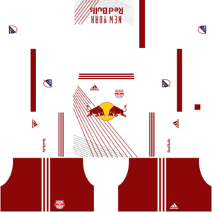 New York Red Bulls Home Kits DLS 2018
