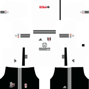 Dream League Soccer Fulham FC  Kits and Logos 2018, 2019 – [512X512]