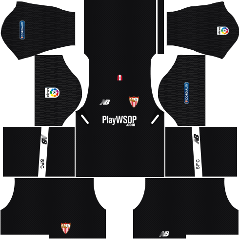 Sevilla FC Goalkeeper Away Kits DLS 2018