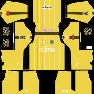 Kawasaki Frontale Goalkeeper Away Kits DLS 2018