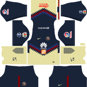Club América Home Kits DLS 2018