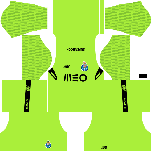 FC Porto Goalkeeper Third Kits DLS 2018