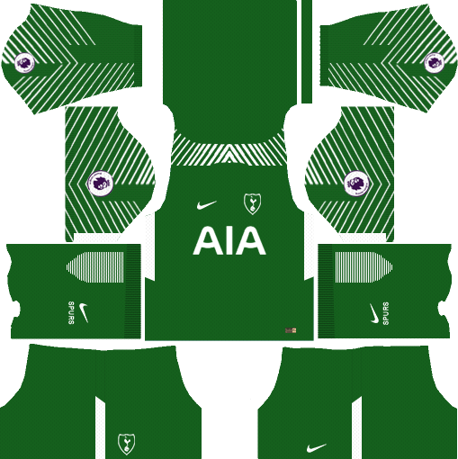 Tottenham Hotspur Goalkeeper Away Kits DLS 2018