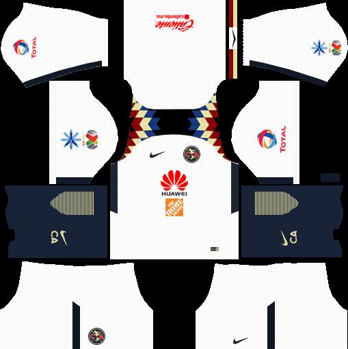 Club América Away Kits DLS 2018