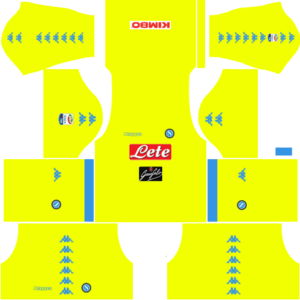 Napoli Goalkeeper Away Kits DLS 2018