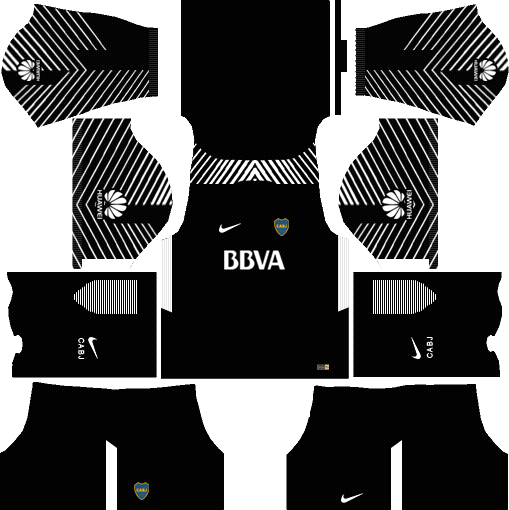 Boca Juniors Goalkeeper Kits DLS 2018