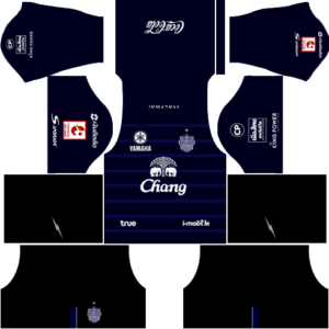 Buriram United Kits Home DLS 2018