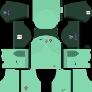 Portugal Away Kit DLS 2018