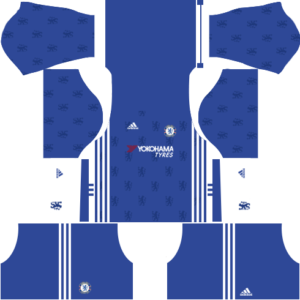 Dream League Soccer Chelsea Kits and Logos 2018, 2019 – [512X512]