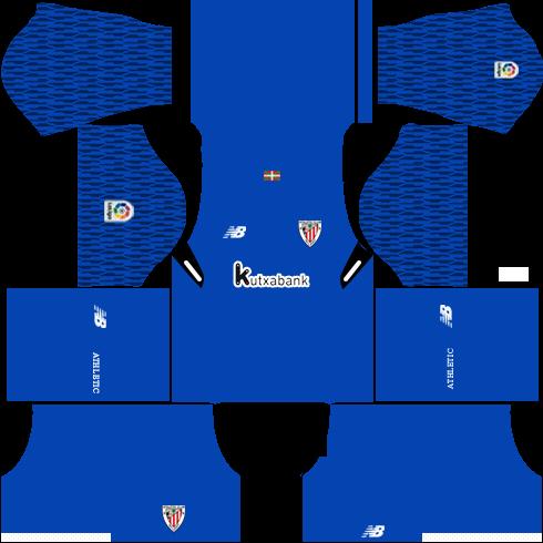 Athletic Bilbao Goalkeeper Home Kits DLS 2018