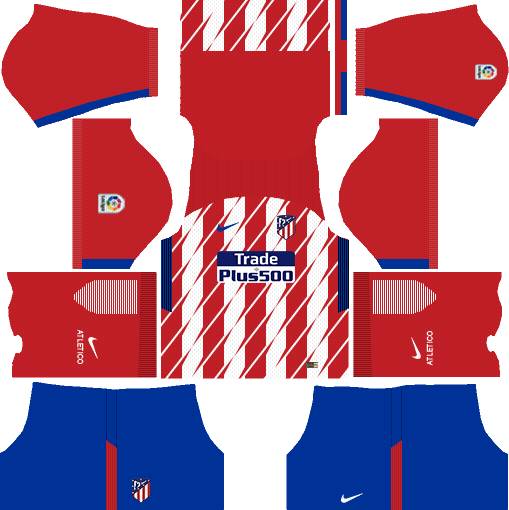Atlético Madrid Home Kits DLS 2018