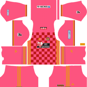 Vegalta Sendai Goalkeeper Home Kits DLS 2018