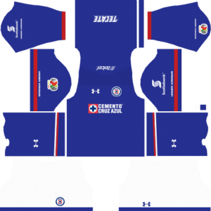 Dream League Soccer Cruz Azul Kits and Logos 2018, 2019 – [512X512]