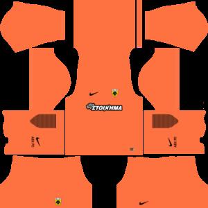 AEK F.C. Goalkeeper Away Kits DLS 2018